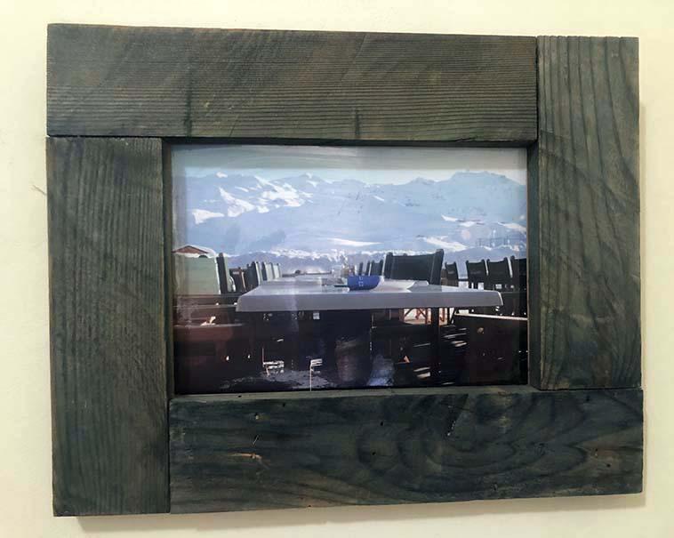 """תמונה עם מסגרת עץ מק""""ט: 1542"""