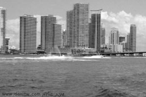 """1962 שחור לבן, בתים, מיאמי, ארה""""ב"""