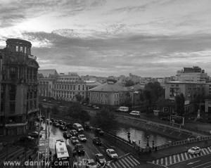 תמונות יפות למכירה צילום נוף עירוני, שחור לבן, בתים, רומניה 5079