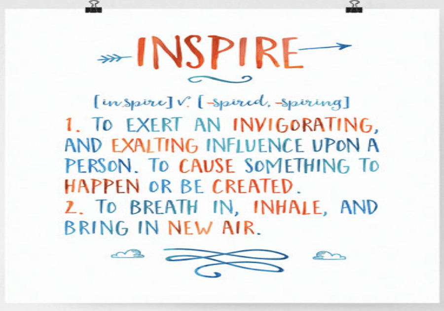 Inspire… A New Mindset for the New Year