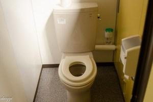 栗山公園トイレの便座
