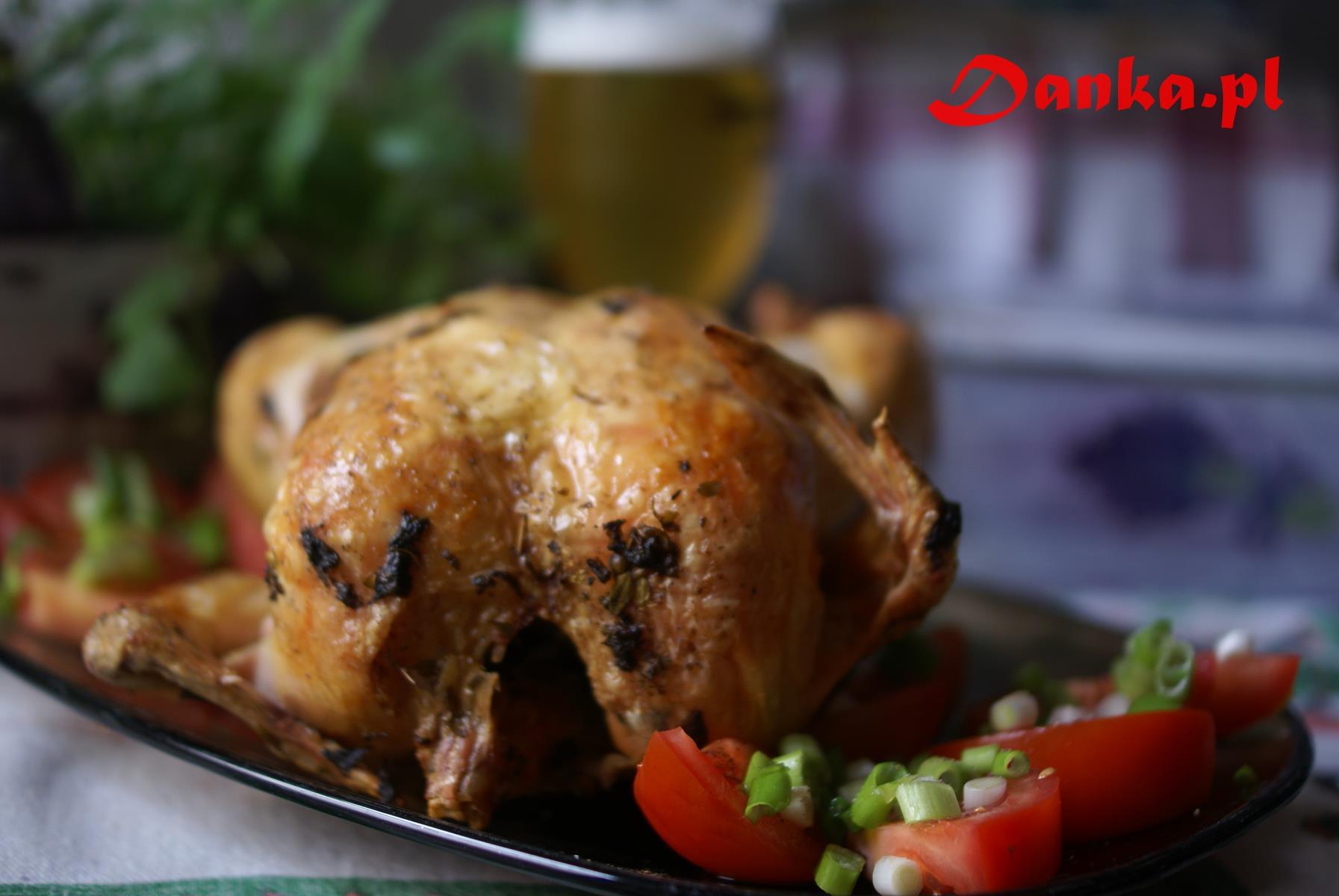 Kurczak na piwie Danka