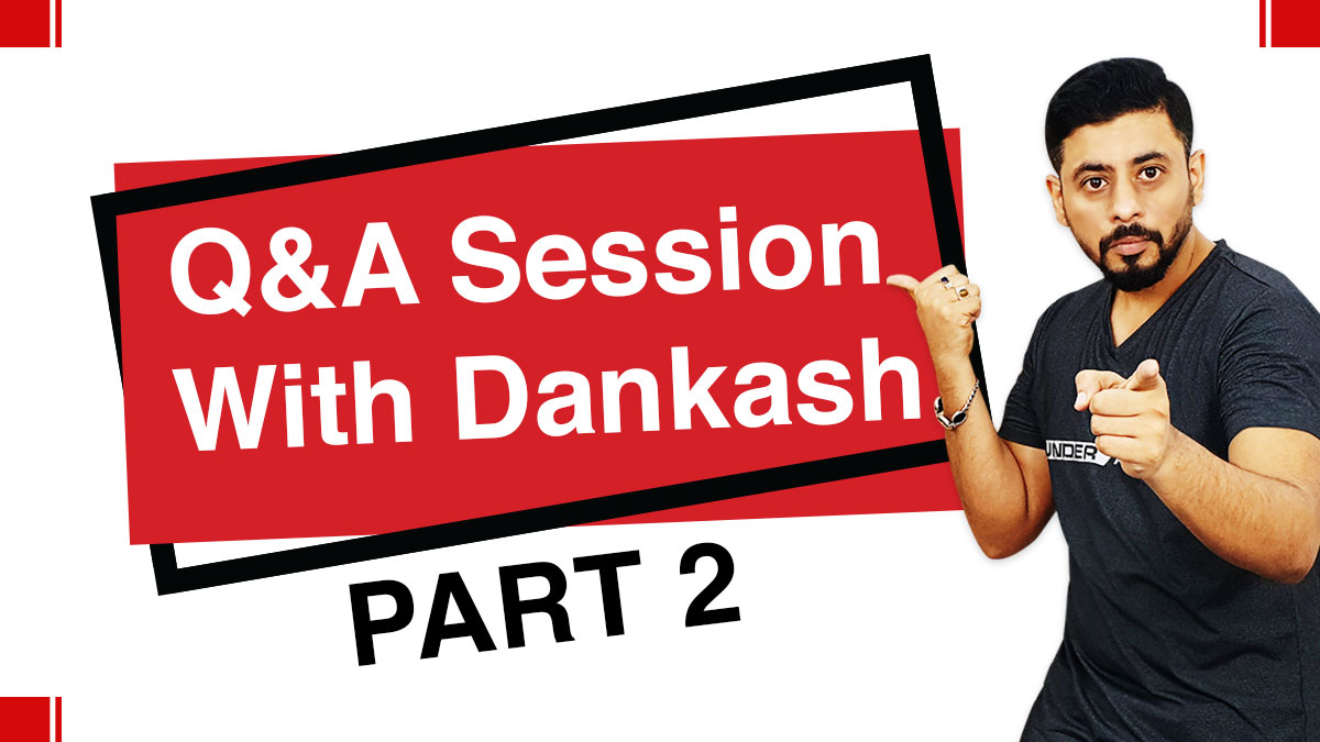 Q&A session with Dankash Part 2 | #Askdankash