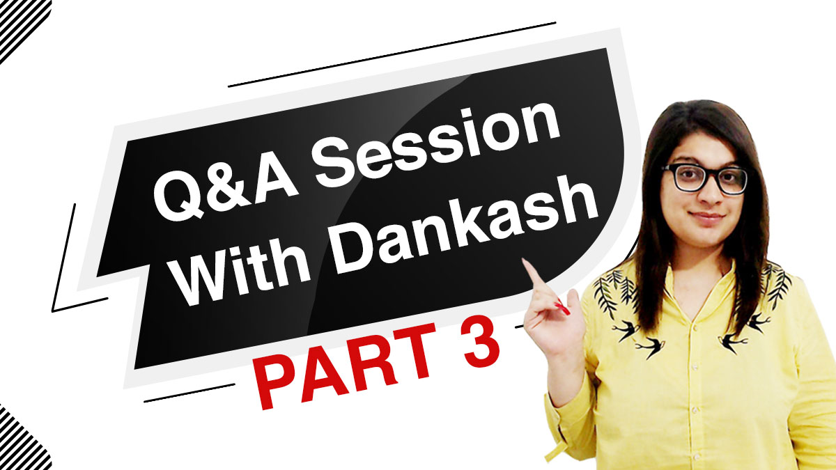 Q&A session with Dankash Part 3 | #Askdankash