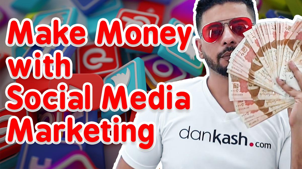 Make money with social media marketing