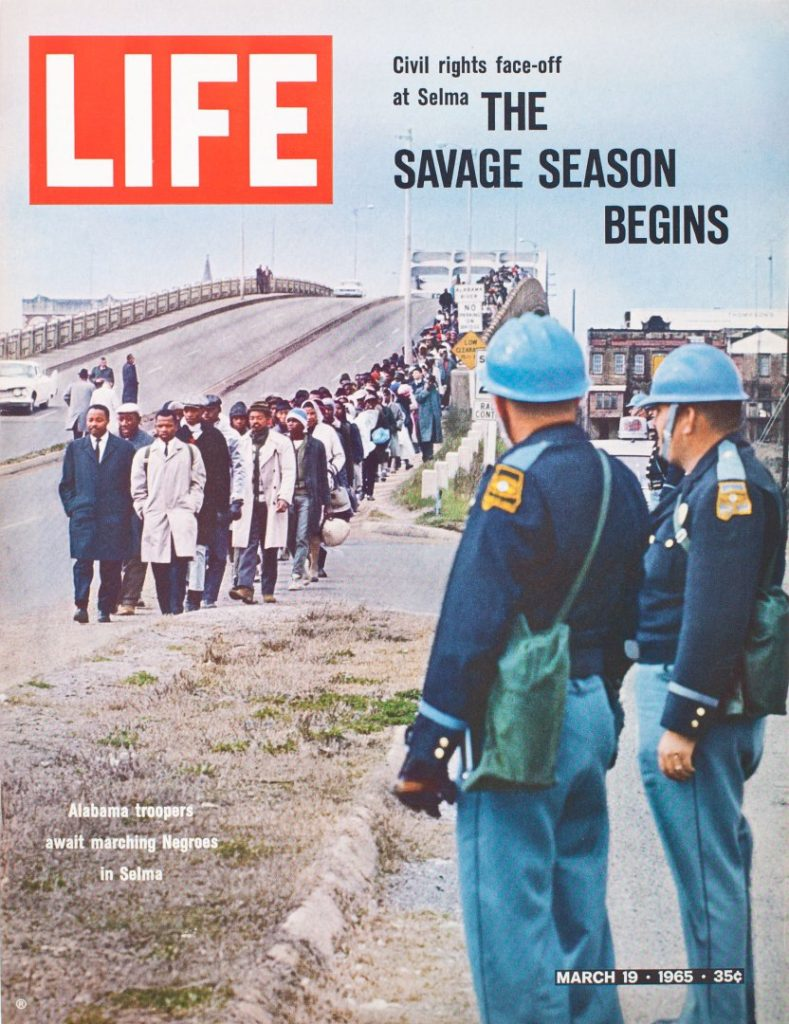 Time Life Cover. Selma 1965