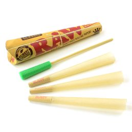 RAW Classic Pre-Rolled King Size Cones – 3 Cone Pack