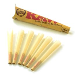RAW Classic Pre-Rolled 1¼ Cones – 6 Cone Pack