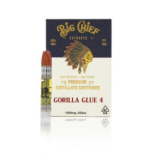 Big Chief Extracts Gorilla Glue #4