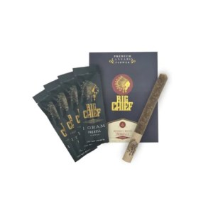 Big Chief Extracts Black Truffle 4 Preroll Pack