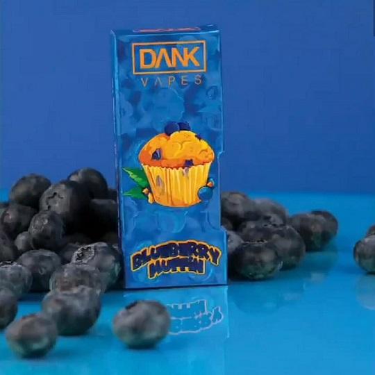 Dank Vapes Blueberry Muffin