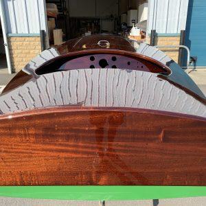 Rocket varnished with epifanes wooden boat varnish how to varnish a wood boat
