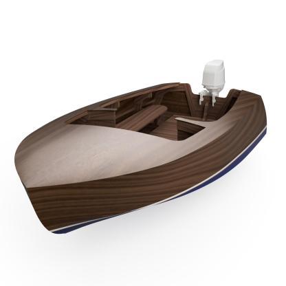 Wood boat plan Playboy MkII William Jackson Boat Plan Boatbuilding