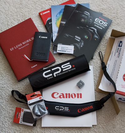 Christmas Came Early Canon Professional Services Sends Me A Welcome Kit Daniel Lopez Paullada The Blog