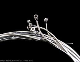 Steel strings for guitar