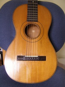 This guitar is a descendant of designs made by Torres in the 19th Century.
