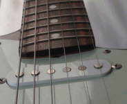 Older Fender truss rod adjustment at bottom of neck