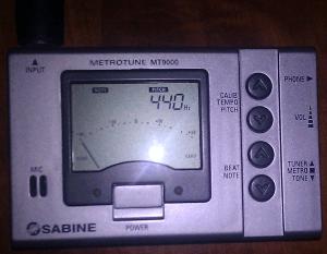Sabine MT9000 Metronome Tuner