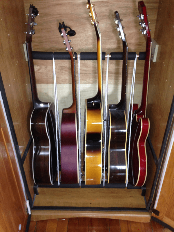 Humidified Guitar Cabinet, Guitar Storage Cabinet