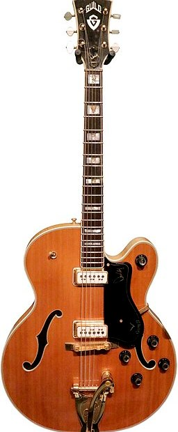 Duane Eddy Guild guitar (Rock and roll Hall of fame, Cleveland, OH)