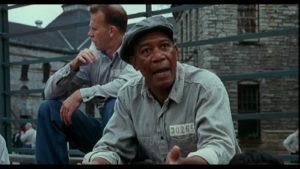 A Photo of Morgan Freeman in The Shawshank Redemption
