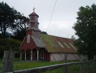 This church has a barn look