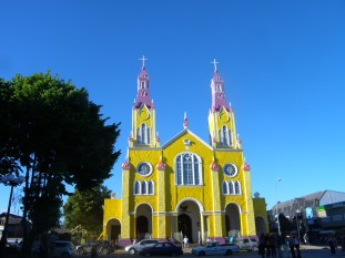 Have you ever seen a yellow and purple church