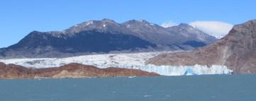 Viedma glacier from Viedma lake