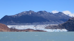 Viedma glacier from the boat