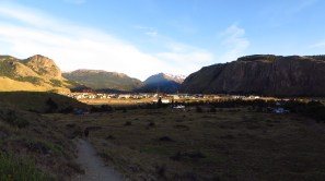 El Chalten waking up in the Morning