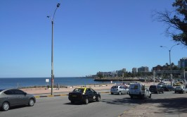 Montevideo´s waterfront is fully accessible with a great running trail.
