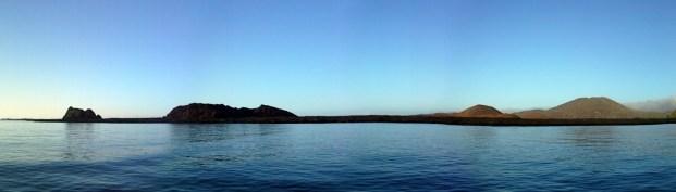 Panorama near Bartolome Island