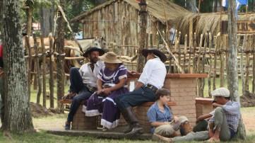 Gauchos chatting