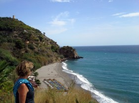 Maro Beach - near Nerja, Spain