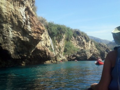 Kayaking the Mediteranean coast