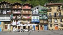 Typical Basque village Pasai Donibane