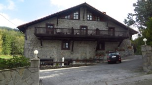 Our Antsotegi hotel in old mill and blacksmith shop