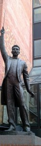 Conductor Statue Palau de la Musica, Barcelona