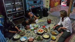 Cooking Thai food with the locals to feed 15 people