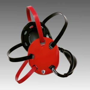 Danmar Warrior Wrestling Headgear Red and Black