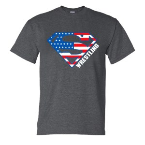Superman Shirt wrestling t-shirt danmar warrior img