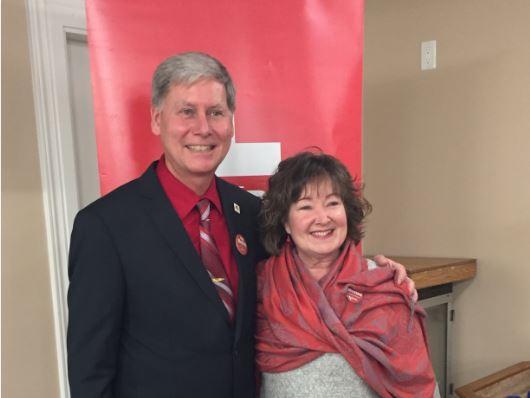 Dan Matten & Minister Kathryn McGarry