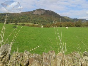 View of Teggs Nose from the bottom.
