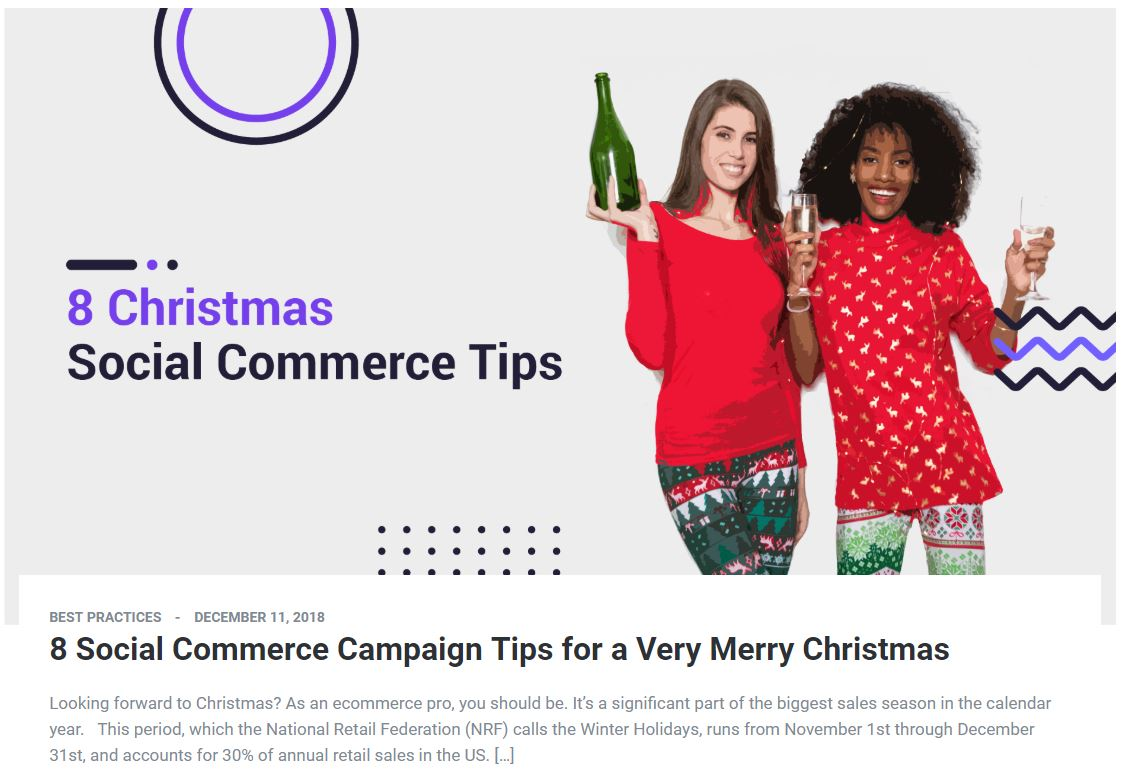 8 Social Commerce Campaigns for a Very Merry Christmas