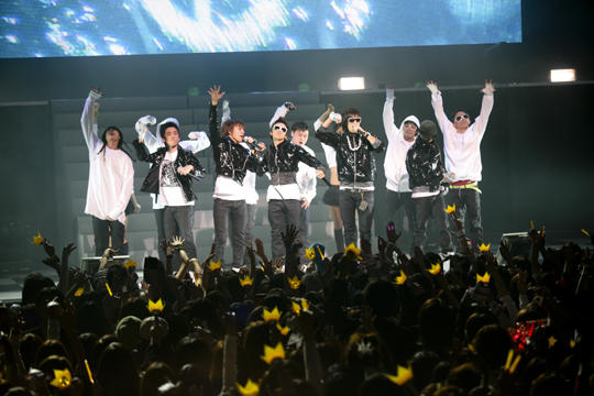2008年BIGBANGの「Global Warning Tour」
