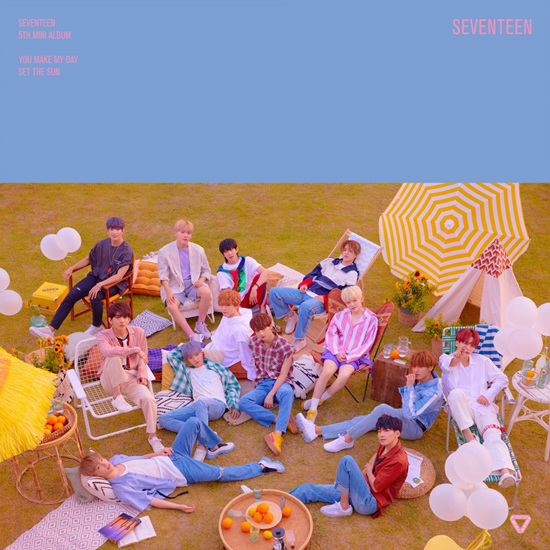 SEVENTEEN 5thミニアルバム「YOU MAKE MY DAY」