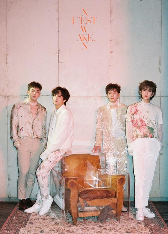 ニューアルバム「WAKE,N」でカムバックしたNU'EST W