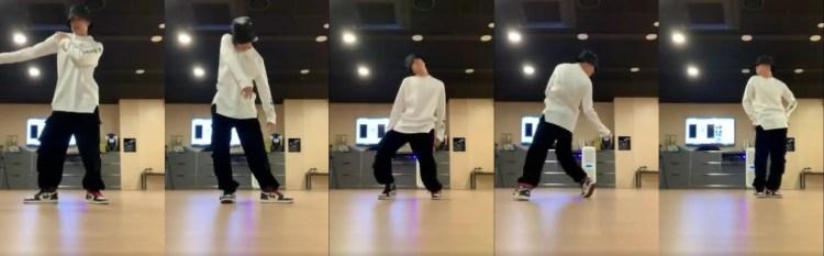 高いダンススキルを披露したJ-HOPE