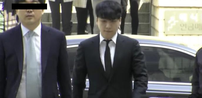 拘束令状が棄却されることとなった元BIGBANGメンバーのV.I