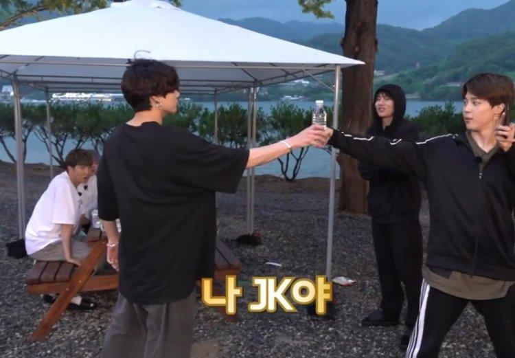 BTS ジョングク ペットボトルキャップチャレンジ